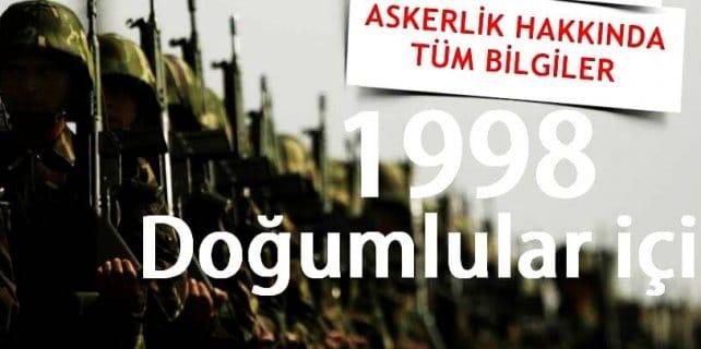 98 dogumlularin askerlik islemleri ne zaman basliyor 642x320 - 1999 Doğumlular Ne Zaman Askeri Muayene Olacak?