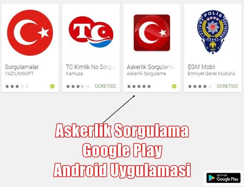 askerlik sorgulama uygulamasi - Google Play'de Askerlik Sorgulama Uygulaması Yayınlandı!